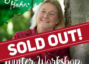 The Winter Workshop is fully booked!