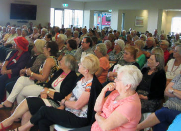 Great turnout for Sabrina Hahn Event at Belswan's Pinjarra Village