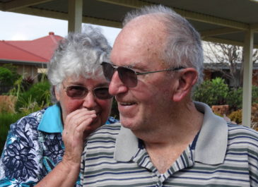 Meet our Residents Phil Chaplyn and Joan Walter
